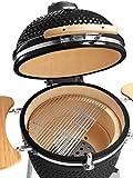 Buschbeck 90140.000 Kamado Keramik Ofen, schwarz - 3